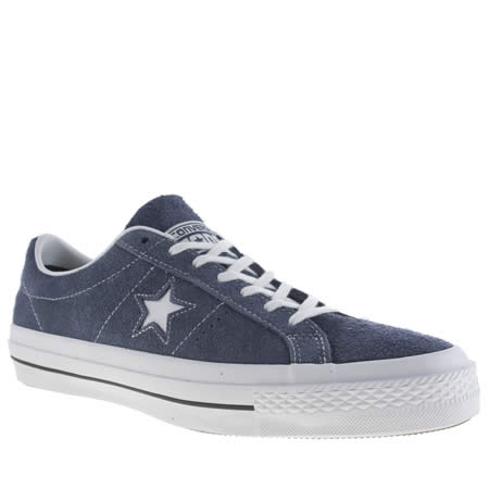 converse one star hairy suede 1