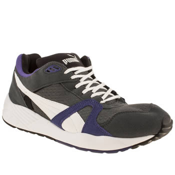 Puma Dark Grey Trinomic Compression 500 Trainers