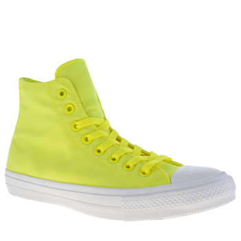 Mens Converse Lime Chuck Taylor All Star Ii Volt Trainers
