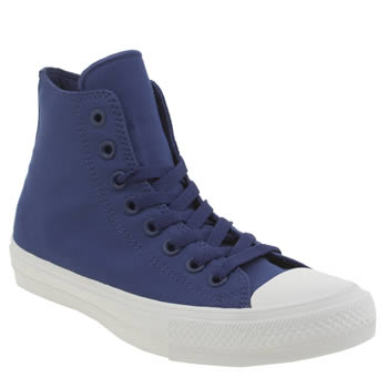 Converse Blue Chuck Taylor All Star Ii Hi Trainers