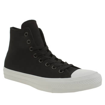 Converse Black Chuck Taylor All Star Ii Hi Trainers