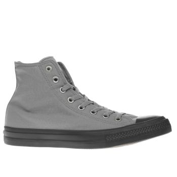 Converse Grey All Star Chuck Ii Hi Trainers