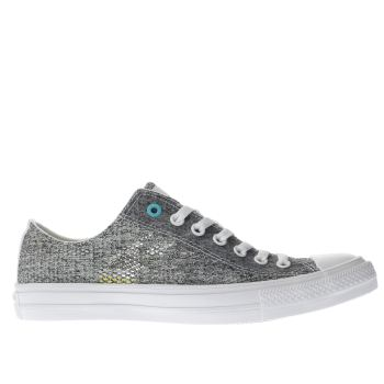 Converse White All Star Chuck Ii Ox Mens Trainers