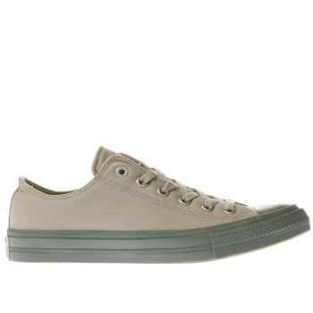 Converse Khaki All Star Chuck Ii Ox Mens Trainers