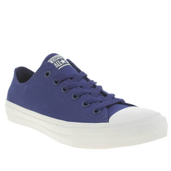Converse Blue Chuck Taylor All Star Ii Ox Trainers