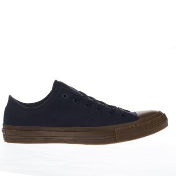Converse Navy Chuck Taylor Ii Ox Mens Trainers