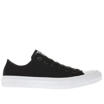 Converse Black Chuck Taylor All Star Ii Ox Trainers