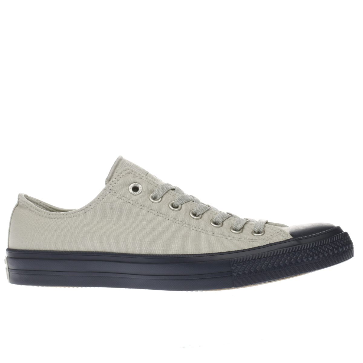 converse stone & navy all star chuck ii ox trainers