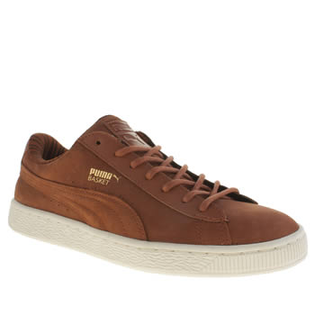 Puma Tan Basket Classic Citi Series Mens Trainers