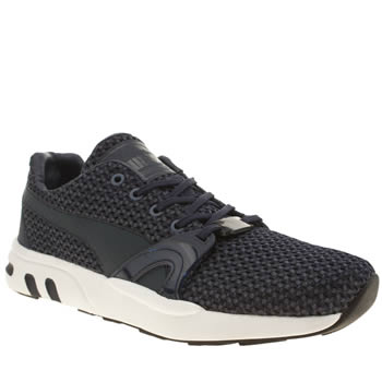 Mens Puma Navy Xt S Knit Trainers