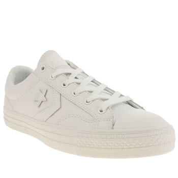 Mens Converse White Star Player Trainers