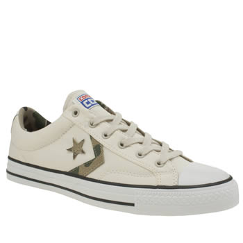 Converse Natural Star Player Camo Graphic Trainers