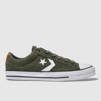 Converse Khaki Star Player Mens Trainers