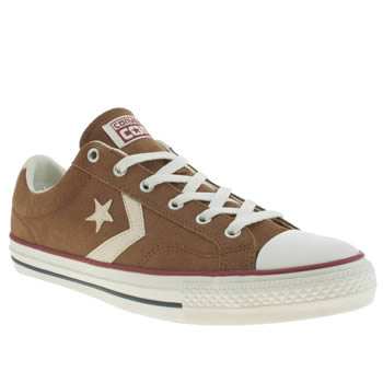 Mens Converse Tan Star Player Ox Trainers