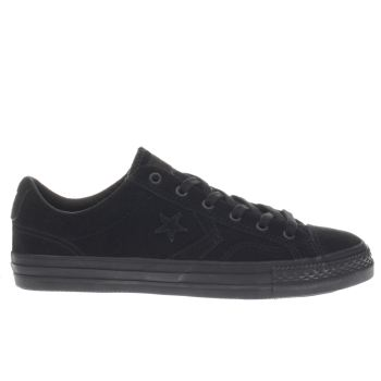 Converse Black Star Player Suede Trainers