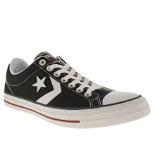 Black & White Converse Star Player Ev
