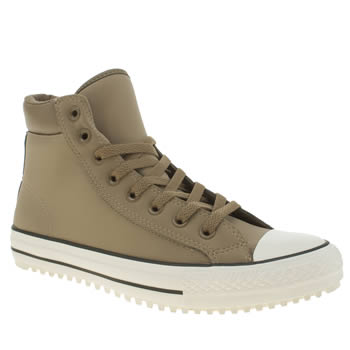 Mens Converse Brown Chuck Taylor All Star 2-0 Trainers