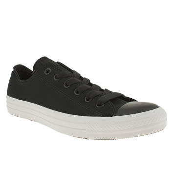 Mens Converse Black & White Core Plus Ox Trainers