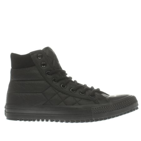 converse all star boot quilted leather 1