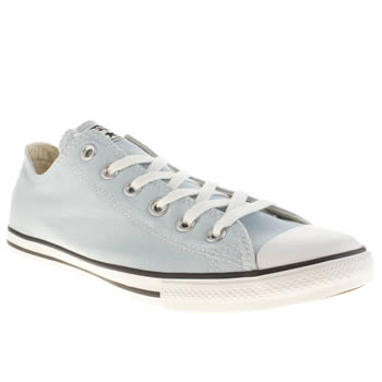 Converse Pale Blue Lean Ox Trainers