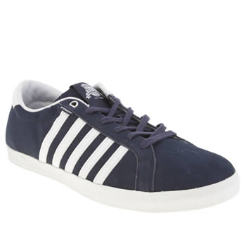 Mens K-Swiss Navy & White All Court Tennis So Trainers