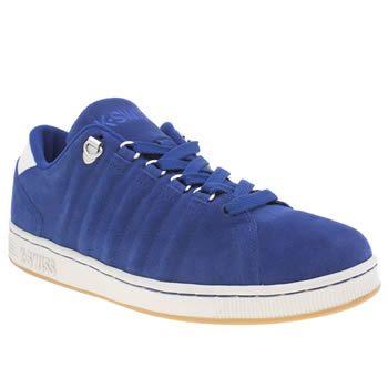 Mens K-Swiss Blue Lozan Trainers