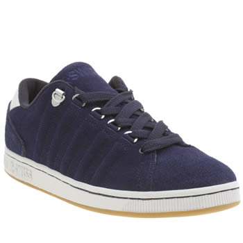 Mens K-Swiss Navy Lozan Trainers