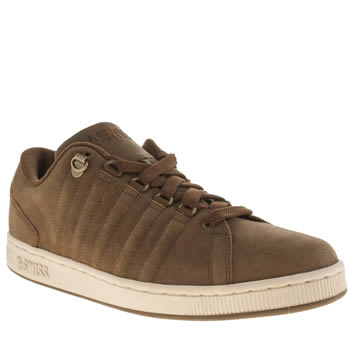 Mens K-Swiss Brown Lozan Trainers