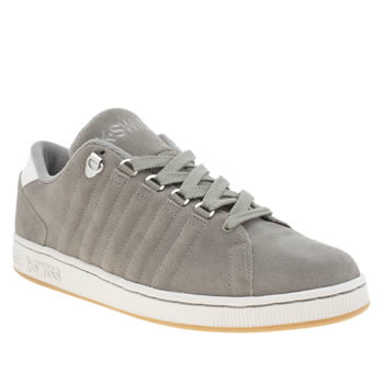 K-Swiss Grey Lozan Trainers