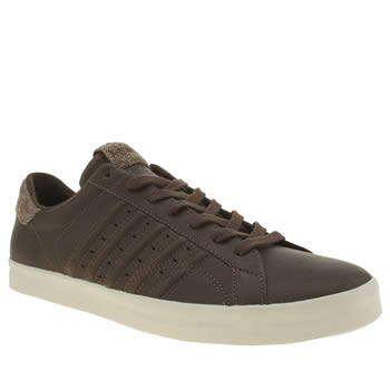 Mens K-Swiss Brown Belmont P Trainers