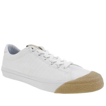K-Swiss White Irvine T Trainers