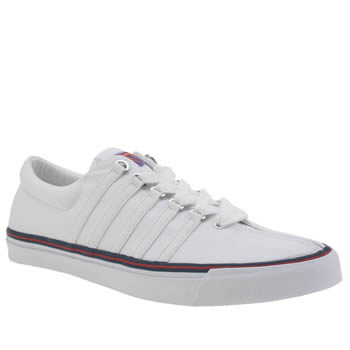 K-Swiss White Surf N Turf Og 50th Trainers