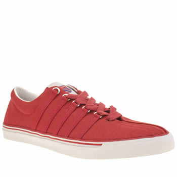 K-Swiss Red Surf N Turf Og Trainers