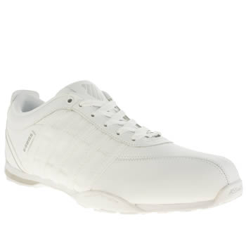 Mens K-Swiss White & grey Arvee 1-5 Trainers