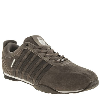 K-Swiss Grey Arvee 1-5 Trainers