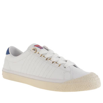K-Swiss White Irvine Og 50th Trainers