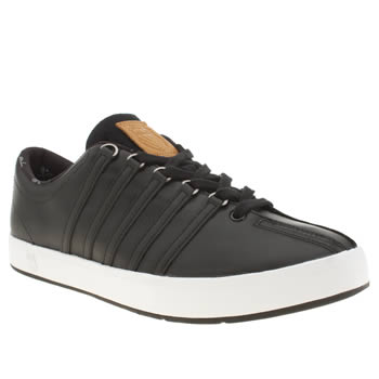 Mens K-Swiss Black The Classic Trainers
