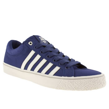 mens k-swiss blue adcourt la cvs trainers