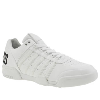 K-Swiss White Gstaad Bl Trainers