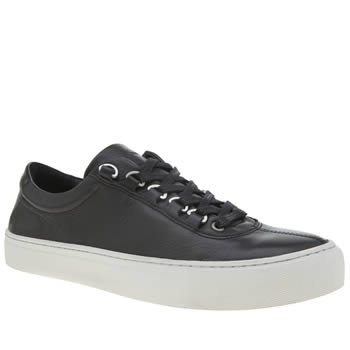 K-Swiss Black Court Classico Mens Trainers