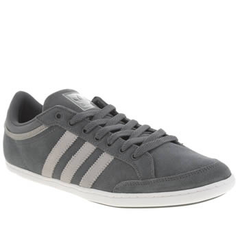 Adidas Dark Grey Plimcana Low Trainers