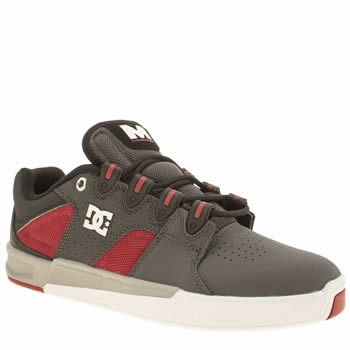 Mens Dc Shoes Grey Maddo Trainers