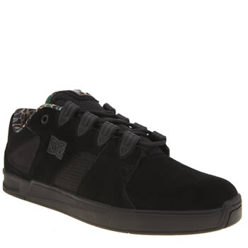 Dc Shoes Black & Green Dc Maddo Trainers