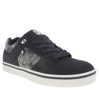 Mens Dc Shoes Blue Course 2 Trainers