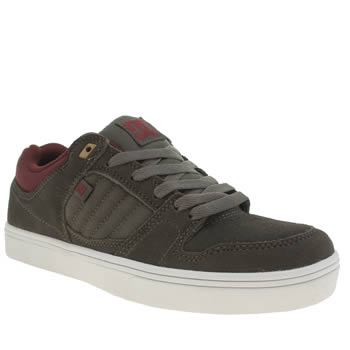 Mens Dc Shoes Grey Course 2 Trainers