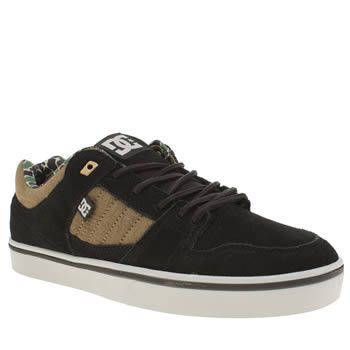 Dc Shoes Black & Brown Course 2 Se Mens Trainers