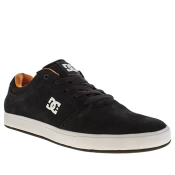 Mens Dc Shoes Navy Crisis Trainers