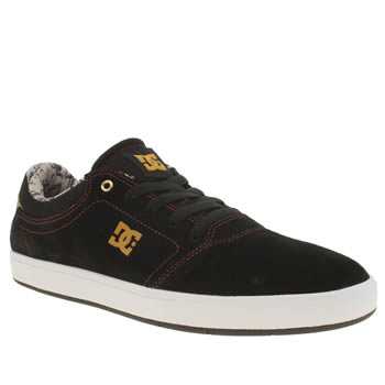 Mens Dc Shoes Black Crisis Trainers