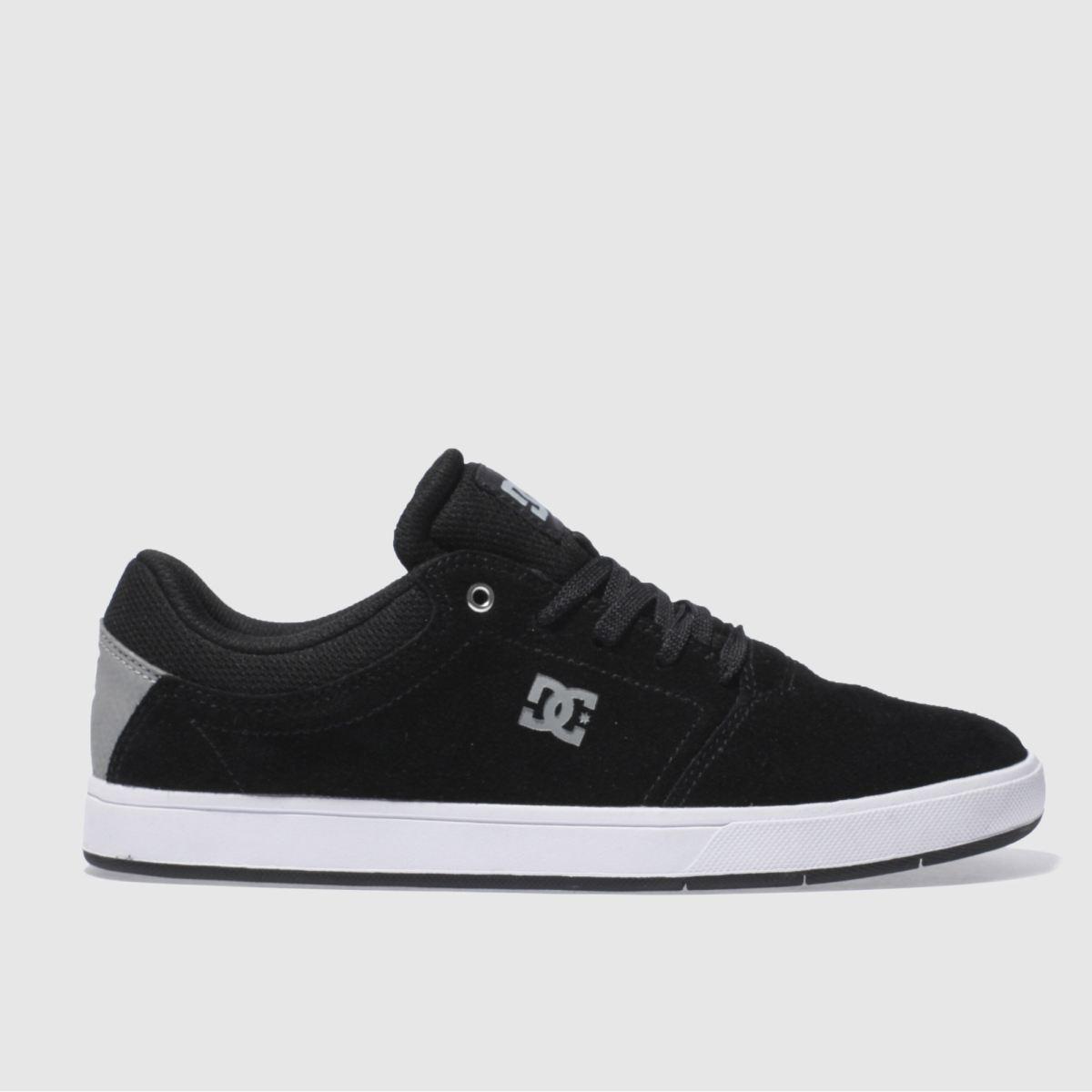 dc shoes Dc Shoes Black & Grey Crisis Trainers