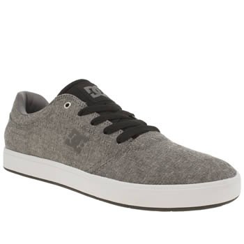 Dc Shoes Dark Grey Crisis Tx Se Trainers